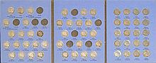 BLUE BOOK COIN HOLDER OF BUFFALO NICKELS Excluding 1913 S, 1913 D, 1914 S, 1914 D, 1919 D, 1923 S, 1924 S, 1925 D, and 1926 S. Condi...