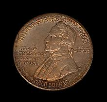 1928 HAWAIIAN SESQUICENTENNIAL COMMEMORATIVE COIN
