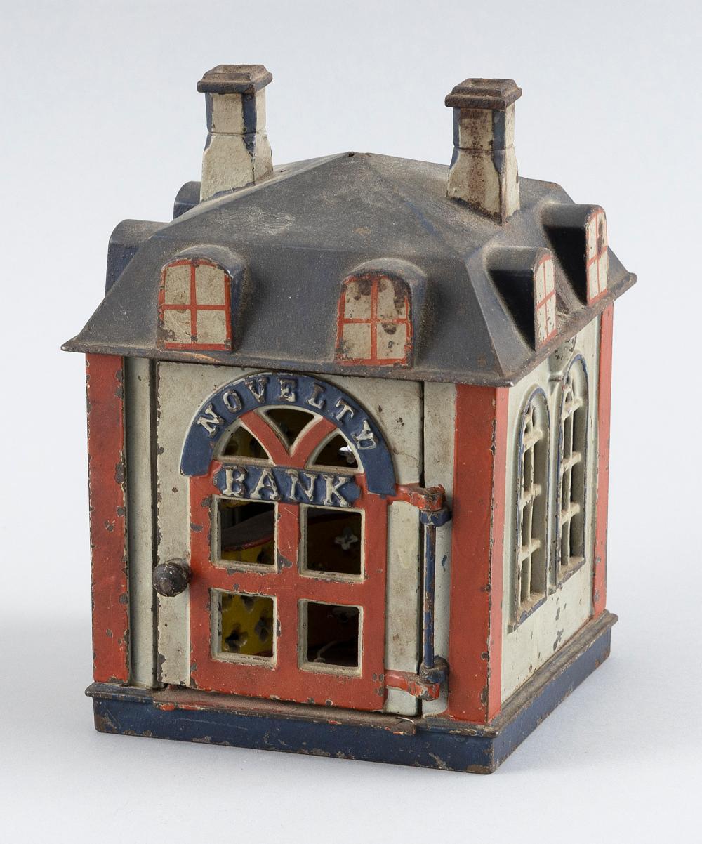"STEVENS NOVELTY BANK 19th Century Height 7""."