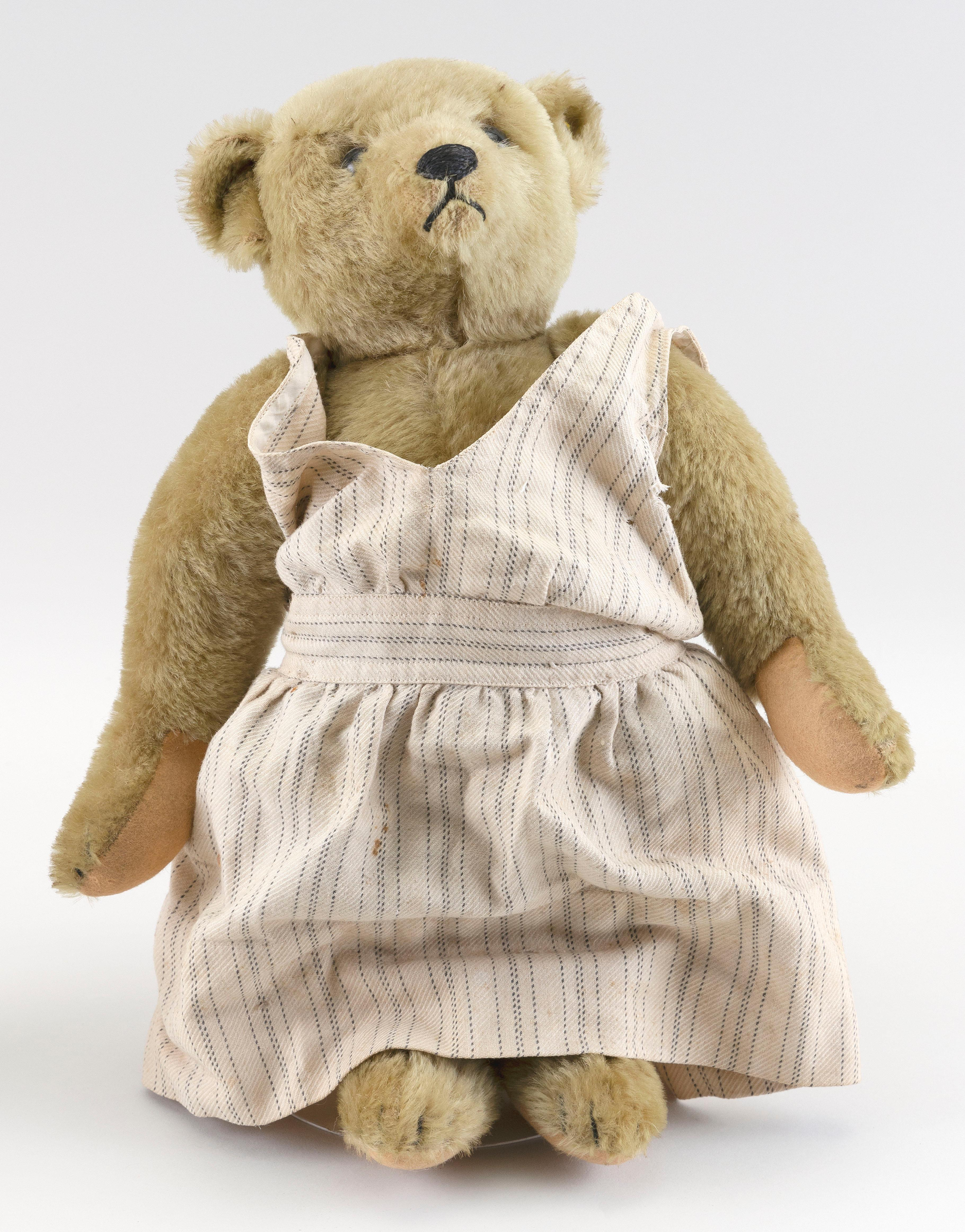 "STEIFF BEAR Late 20th Century Height 16""."