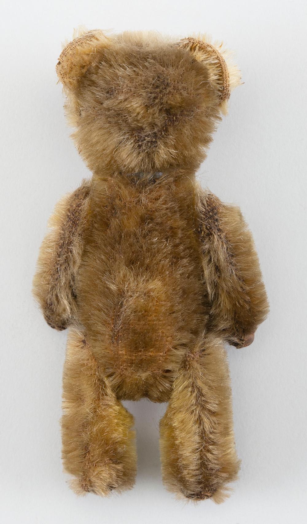 "SCHUCO TEDDY BEAR PERFUME BOTTLE 1920 German Height 5""."