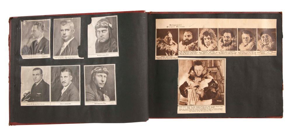 SCRAPBOOK OF THE FIRST ANTARCTIC EXPEDITION 1928-1930 Circa 1930
