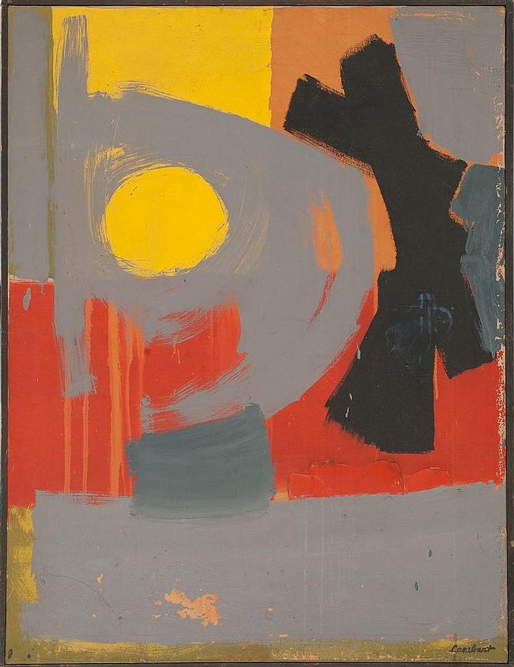 Lot - JACKSON LAMBERT (Massachusetts/New York, 1919-2011