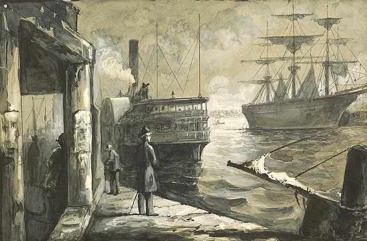 ELBRIDGE KINGSLEY, American, 1841-1918,