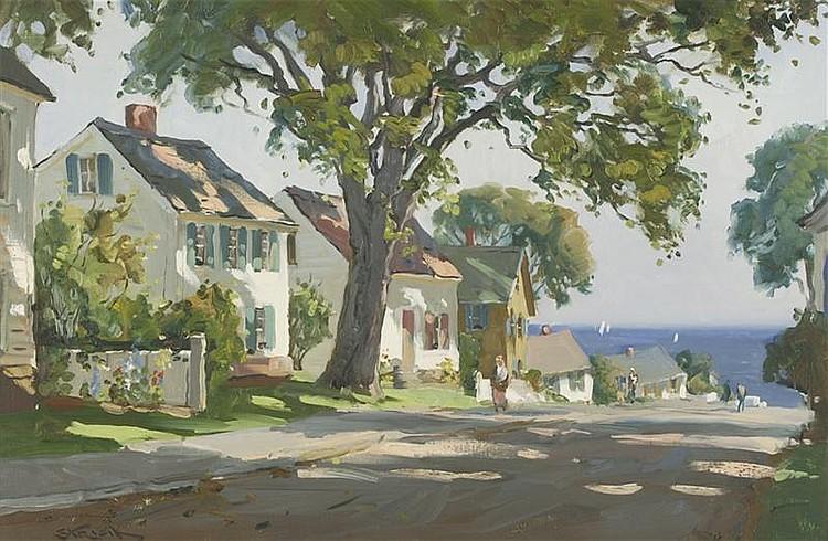 PAUL STRISIK, American, 1918-1998,