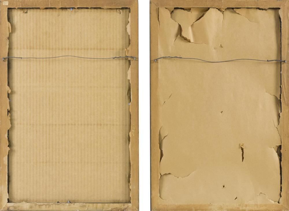 HENRI MATISSE, France, 1869-1954, Two serigraphs on paper: , Both 14