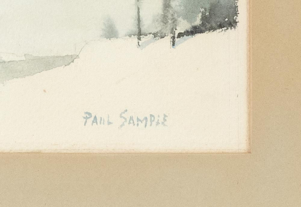 PAUL STARRETT SAMPLE, New Hampshire/California/Vermont, 1896-1974,