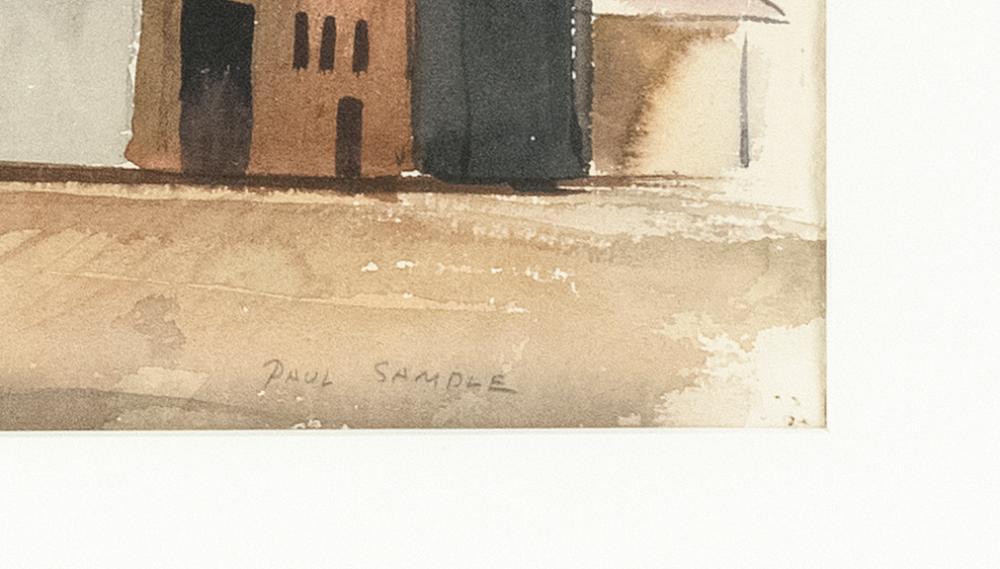 PAUL STARRETT SAMPLE, New Hampshire/California/Vermont, 1896-1974,