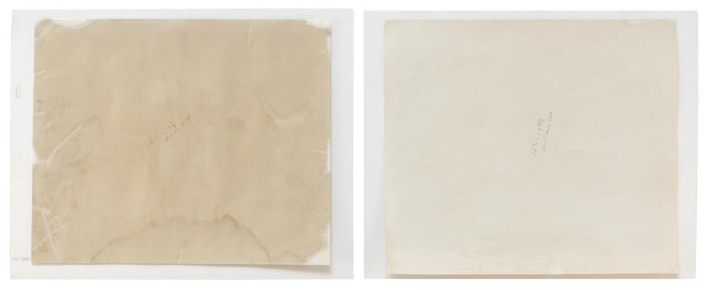 GEORGE VON PHYSTER, Illinois, 1909-1986, Two unframed lithographs on paper: , 14
