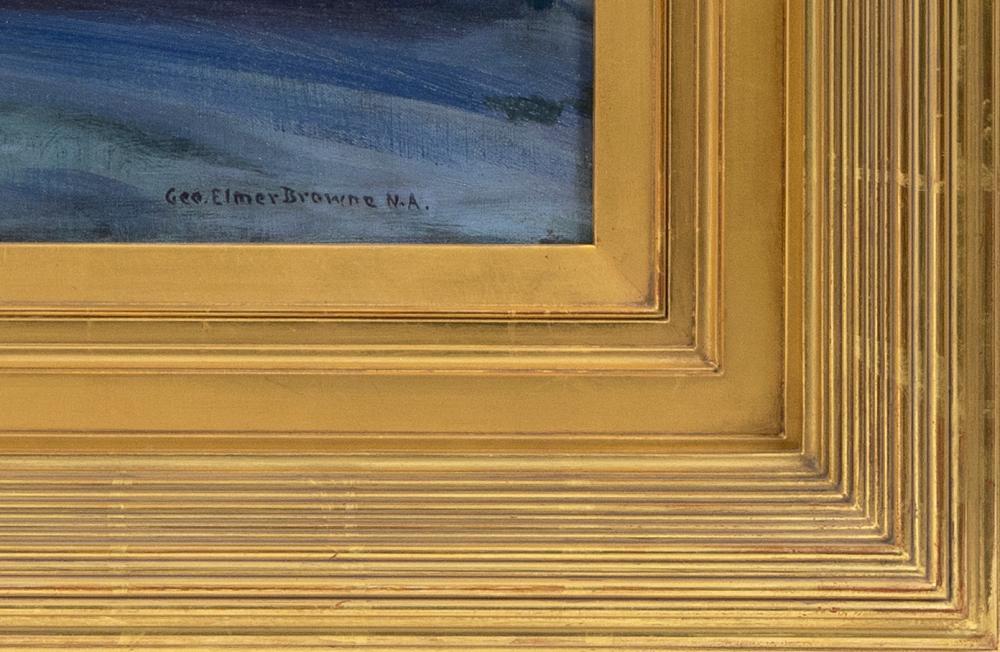 GEORGE ELMER BROWNE, Massachusetts/Connecticut, 1871-1946,
