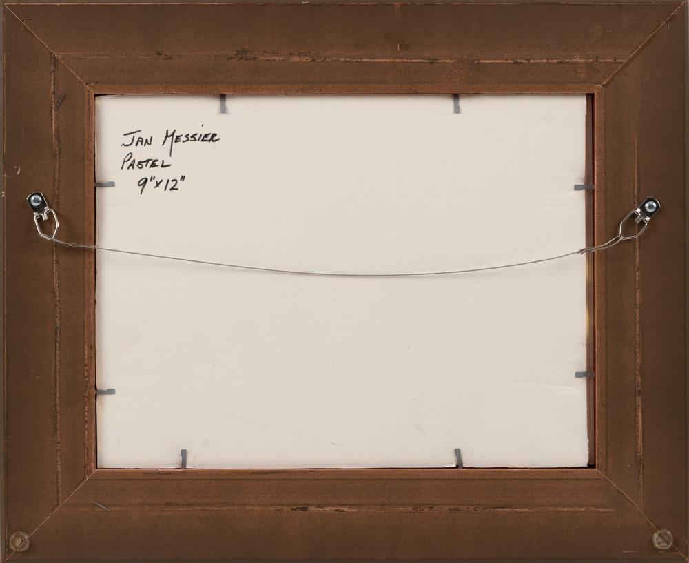 JAN MESSIER, Massachusetts, b. 1949, Path to Ryder Beach, Truro, Massachusetts., Pastel on paper, 9