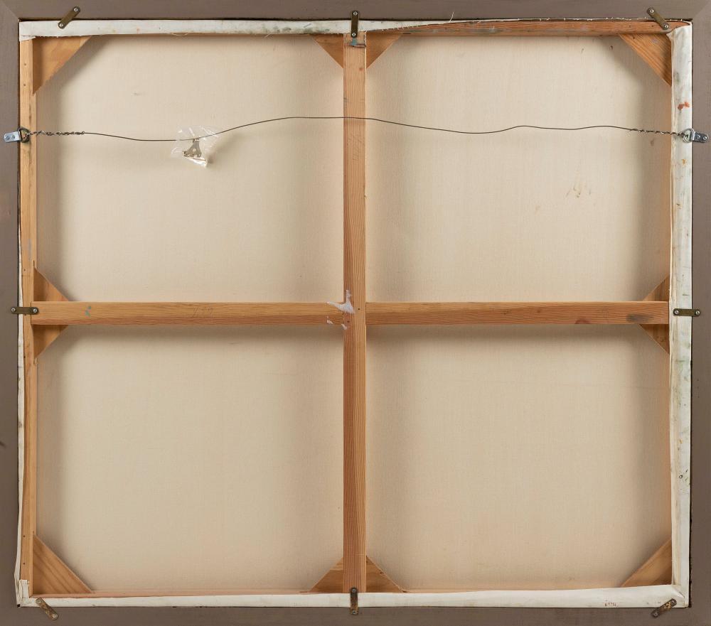 ANNE PACKARD , Massachusetts/New Jersey, b. 1933, Seascape., Oil on canvas, 42.5