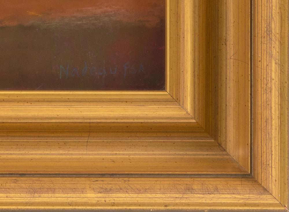 ROSALIE NADEAU, Massachusetts, Contemporary, Still life of peaches., Pastel on paper, 9