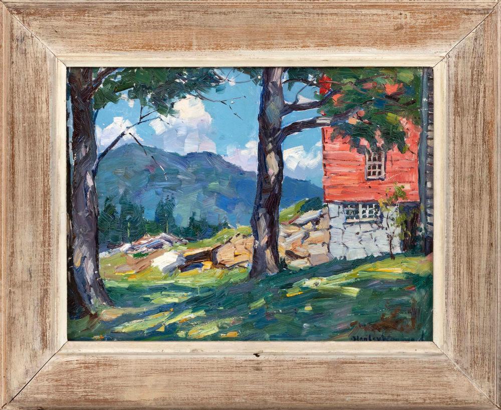 Lot - STANLEY WINGATE WOODWARD, Massachusetts, 1890-1970