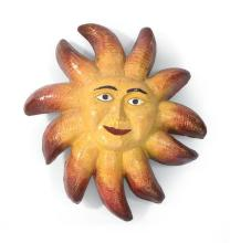 BARRE PINSKE, American, Contemporary, Smiling sun., Resin sculpture, height 29