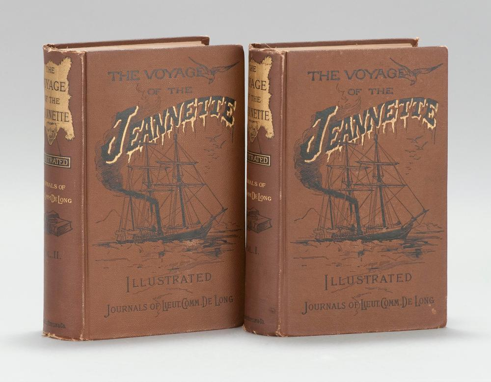 VOLUME ON MARITIME EXPLORATION Voyage of the Jeannette: The Ship and Ice Journals of George W. De Long, ... Commander of the Polar E...