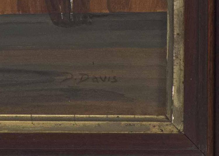 DOROTHY DAVIS Massachusetts 1910 1991 Interior Of The Ost
