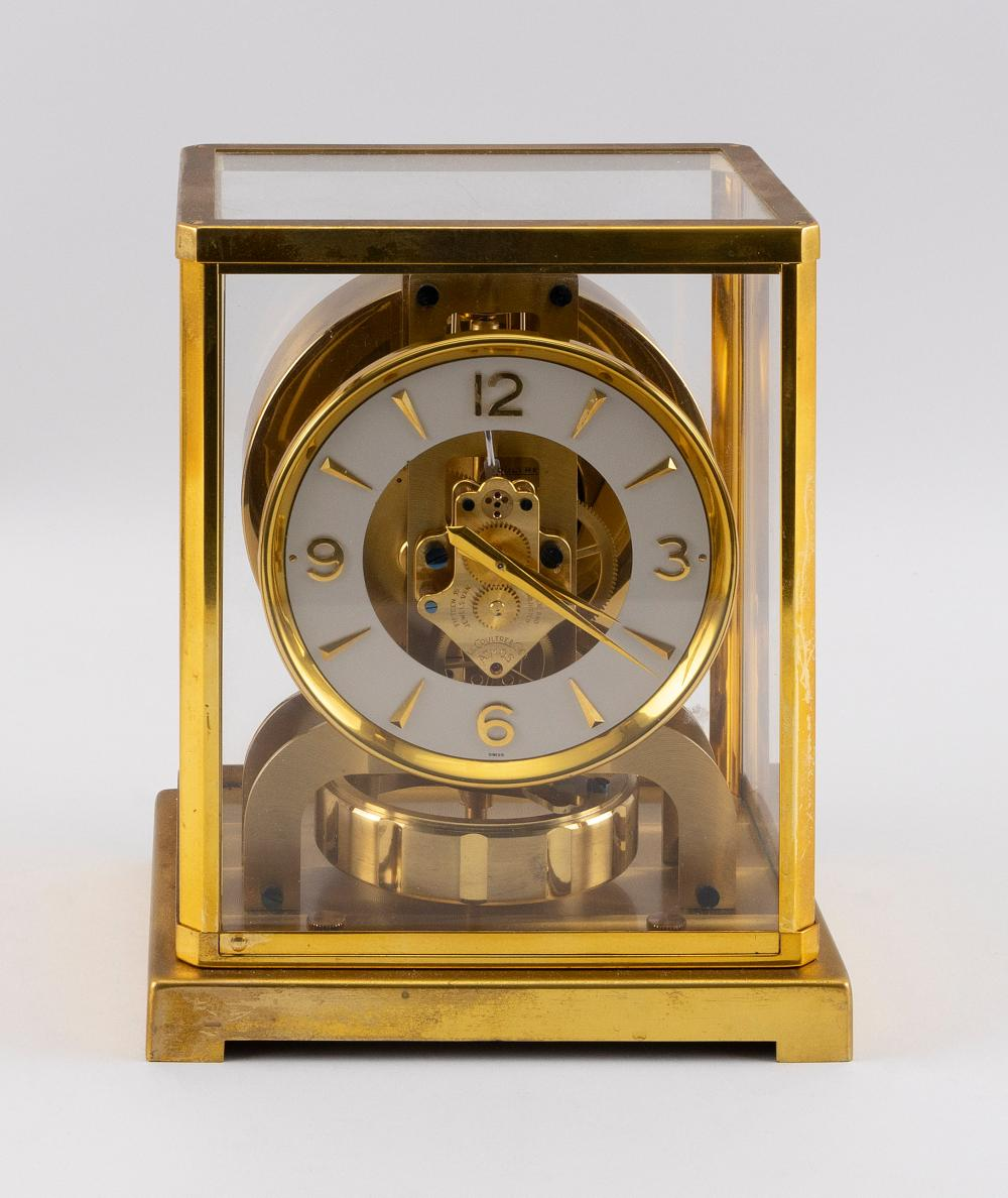 """JAEGER-LECOULTRE ATMOS CLOCK 20th Century Height 8.75"""". Width 7"""". Depth 5.25""""."""