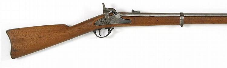 U.S. SPRINGFIELD MODEL 1863 MUSKET 58 cal. Lockplate stamped