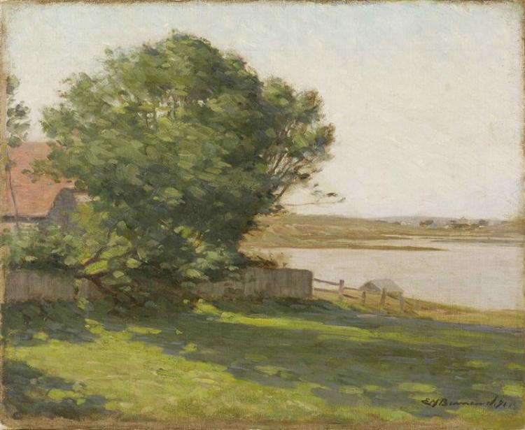 EDWARD HERBERT BARNARD, Massachusetts, 1855-1909,