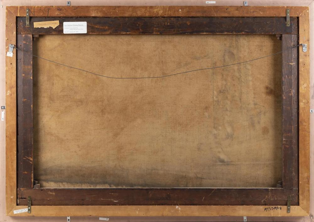 WILLIAM BRADFORD, Massachusetts/California, 1823-1892, Clipper Golden West of Boston, outward bound, circa 1852., Oil on canvas, 32