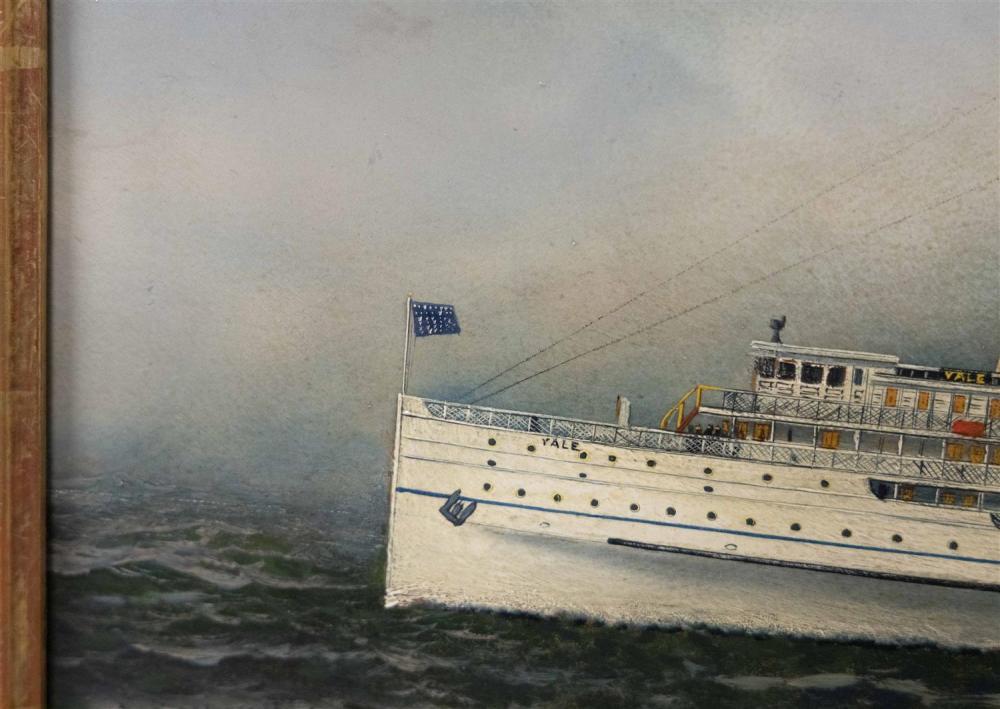ANTONIO NICOLO GASPARO JACOBSEN, New York/New Jersey/Denmark, 1850-1921, Passenger steamship Yale of the Metropolitan Steam Ship Com...