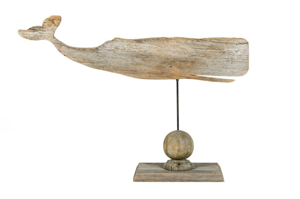 Antique sperm whale weather vane, girls fucking in bathrooms