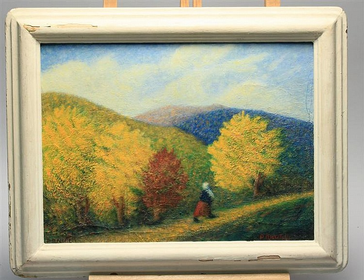 FRAMED PAINTING: DOMENICO RICCITELLI (Rhode Island, b. 1881).