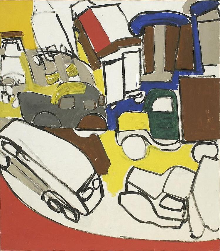 NELL BLAIR WALDEN BLAINE, American, 1922-1996,