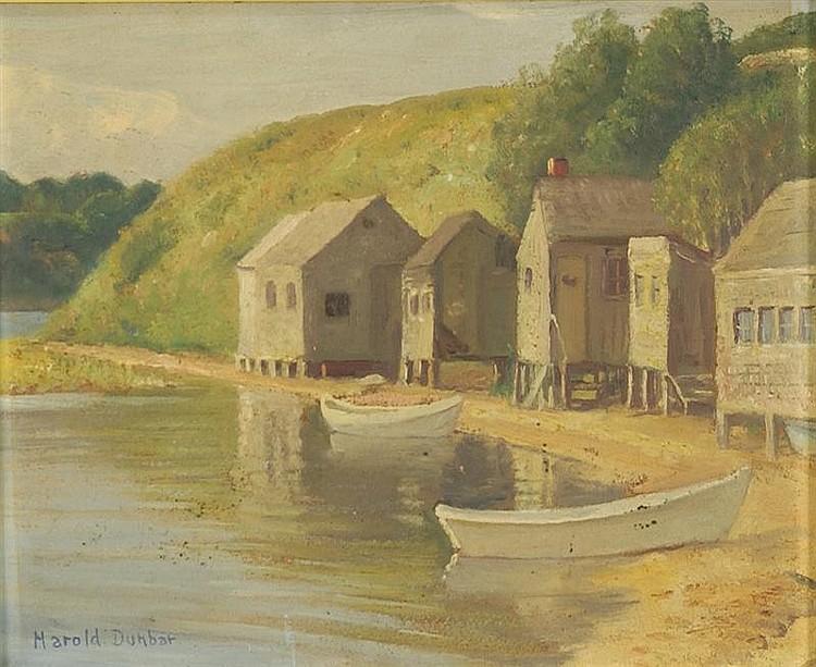 Harold C Dunbar Works on Sale at Auction & Biography