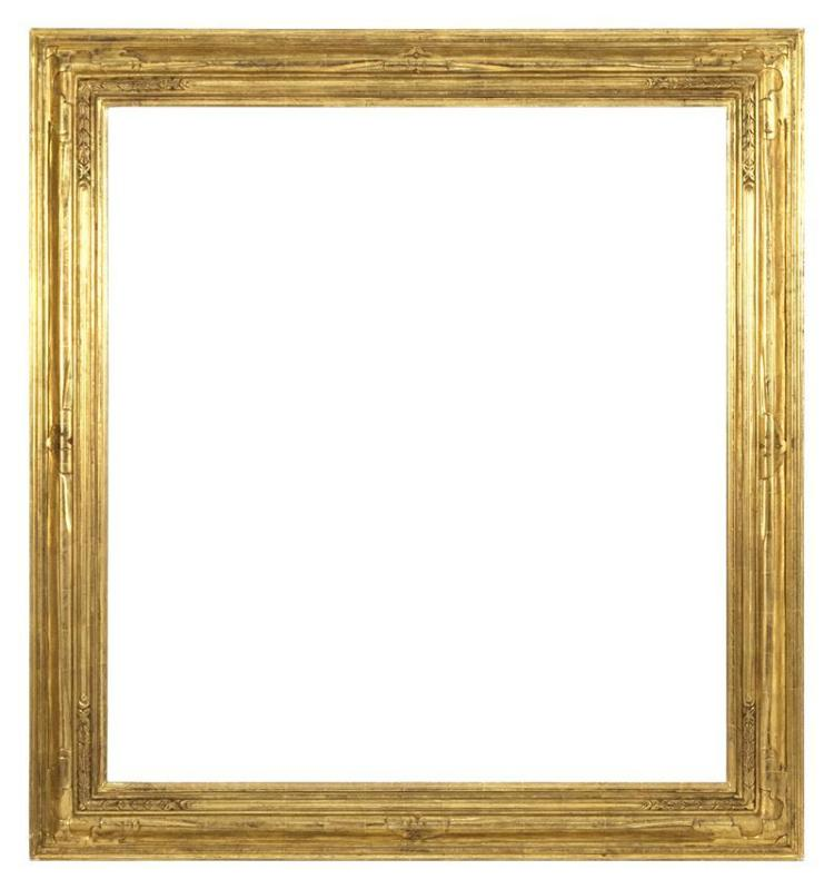 HAND-CARVED GILT FRAME BY GUIDO OF BOSTON Aperture 49