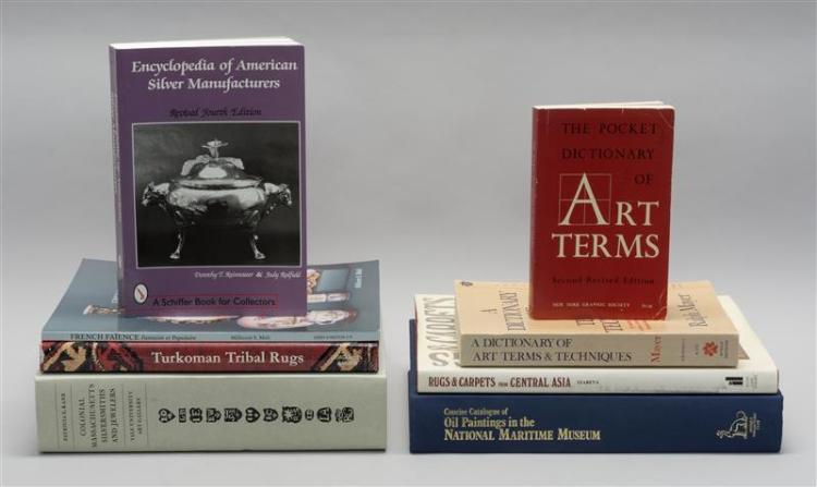 (ANTIQUES) EIGHT BOOKS From a Private Collection.