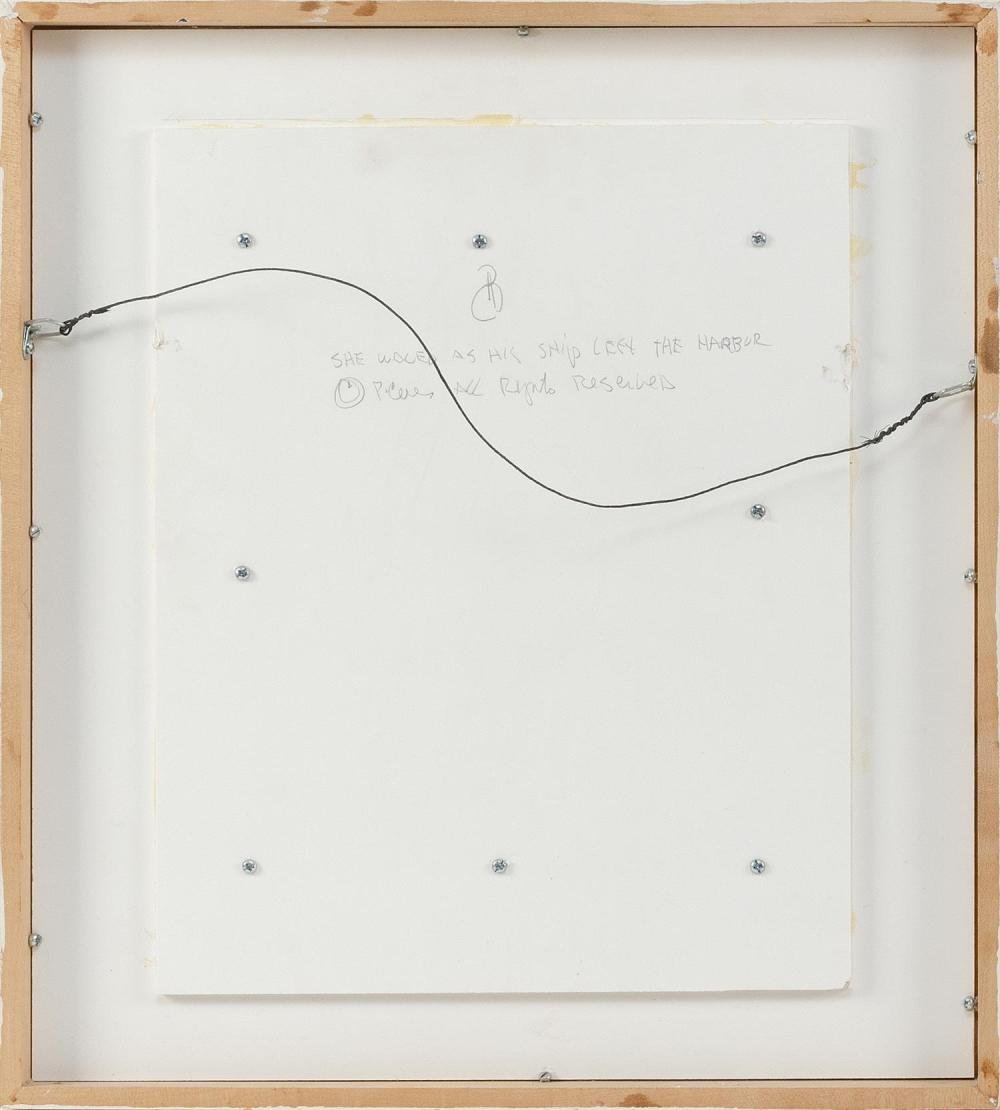 PETER COES, Massachusetts, born 1946, Two related works: