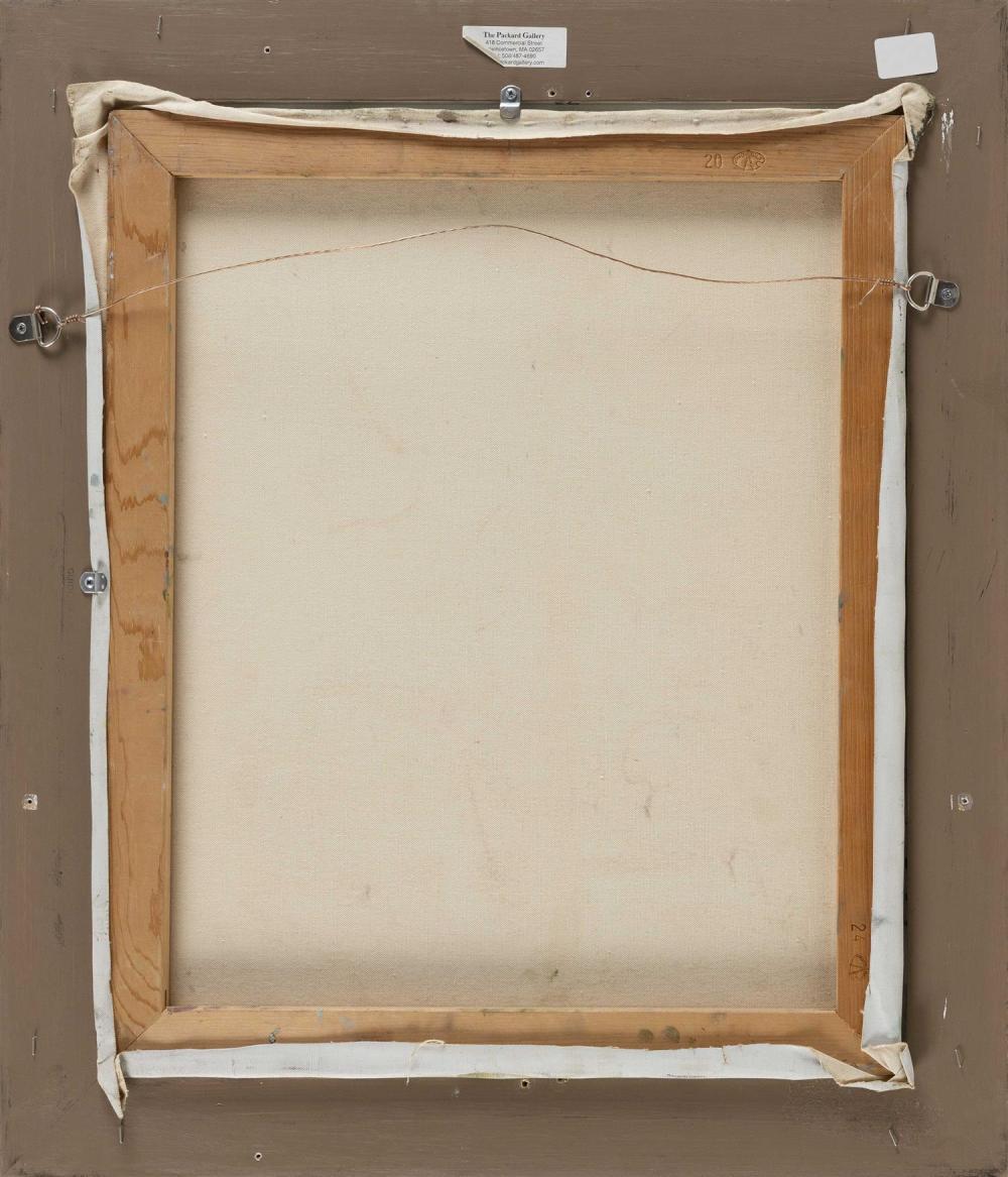 ANNE PACKARD, Massachusetts/New Jersey, b. 1933, Sailboat., Oil on canvas, 24