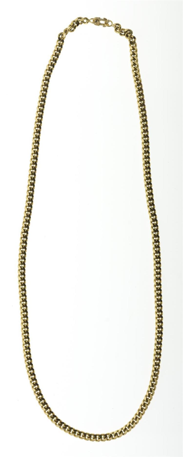 14KT YELLOW GOLD CHAIN NECKLACE Stamped