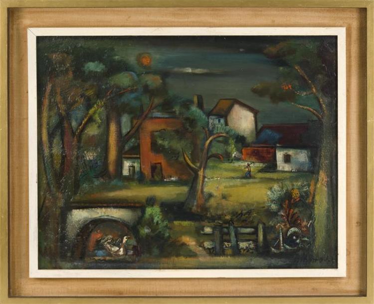 OTTO (BANZ) BOTTO, New York/New Jersey/Switzerland, 1903-1968,