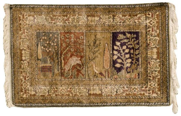 ORIENTAL RUG: TURKISH 2'9