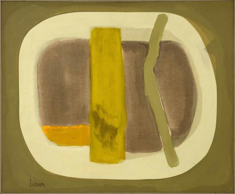 K. BROWN, American. Contemporary,