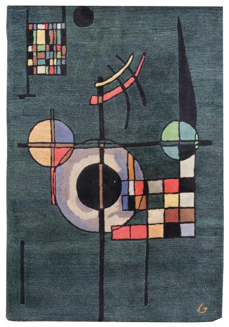GUGGENHEIM ARTS COLLECTION RUG AFTER KANDINSKY 5'3