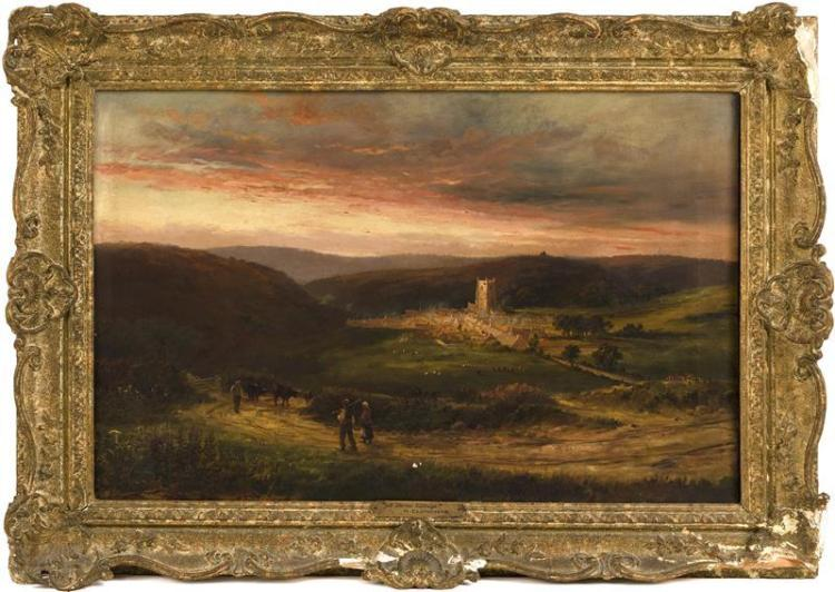 HENRY CLEMENTS, English, 19th Century,