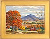 FRAMED PAINTING: CHARLES STEPULE (American, 1911-2006). Signed lower right