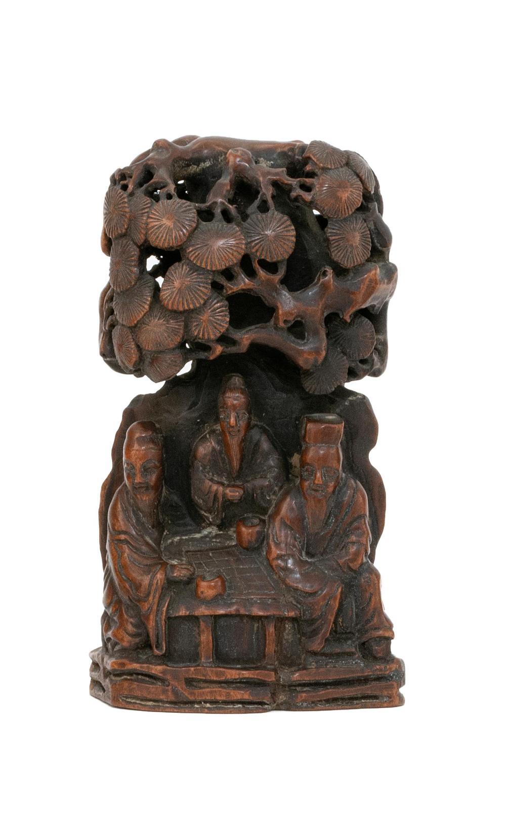 Boxwood carving sale number lot number skinner
