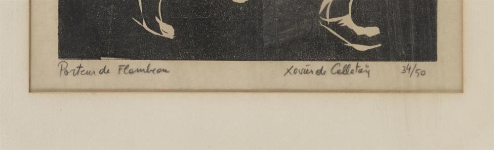 XAVIER DE CALLATAY, Louisiana/New York/Belgium, 1932-1999,