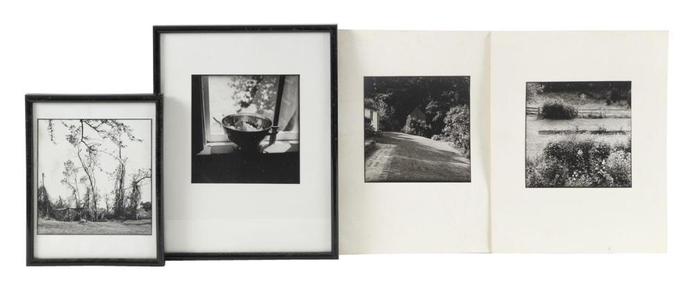 (DAVID) BRUCE CRATSLEY, New York, 1944-1998, Thirteen assorted black and white photographs depicting, Gelatin silver prints, 6.75
