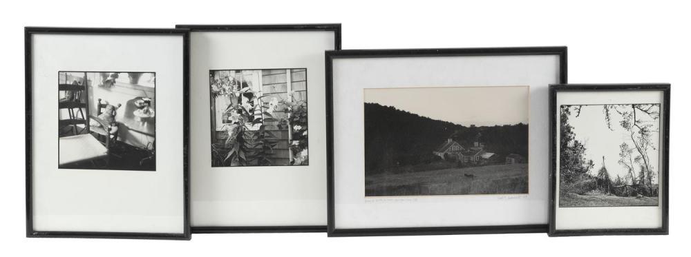 "(DAVID) BRUCE CRATSLEY, New York, 1944-1998, Thirteen assorted black and white photographs depicting, Gelatin silver prints, 6.75"" x..."