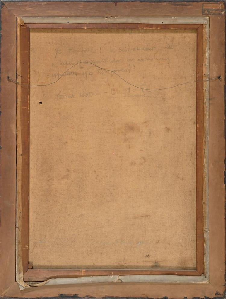 HAROLD MATTHEWS BRETT, Massachusetts, 1880-1955, Original illustration for Lorna Doone, a Romance of Exmoor., Oil on canvas, 40