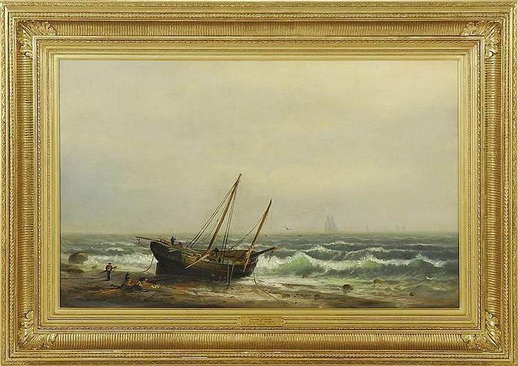 WESLEY ELBRIDGE WEBBER, American, 1841-1914,