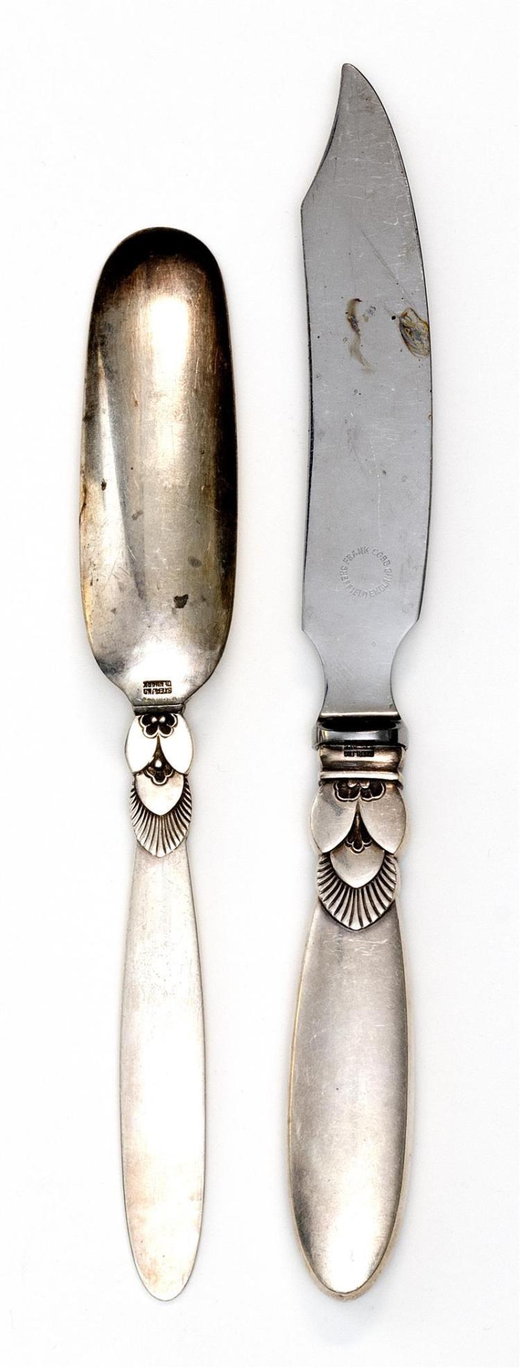 TWO GEORG JENSEN