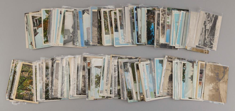 (CAPE COD: PROVINCETOWN) 271 POSTCARDS Includes 126 Commercial Street, 114 side streets and 31 Bradford Street and Mayflower Heights...