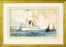 CHARLES EDWARD DIXON, British, 1872-1934,